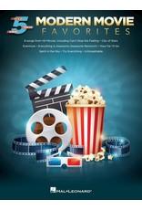 Hal Leonard Modern Movie Favorites 5 Finger