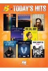 Hal Leonard Today's Hits 5 Finger