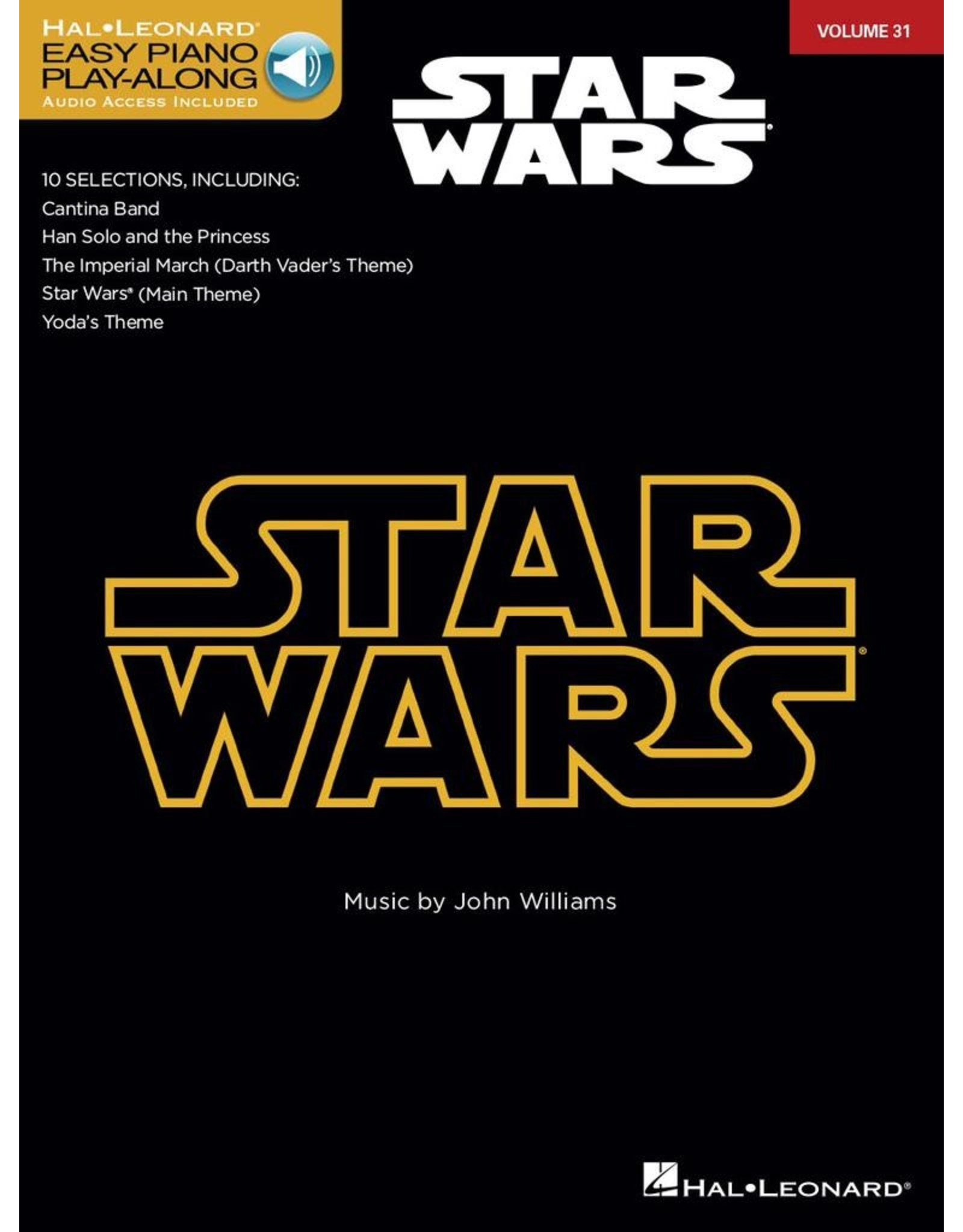 Hal Leonard Stars Wars Easy Piano with Audio Access