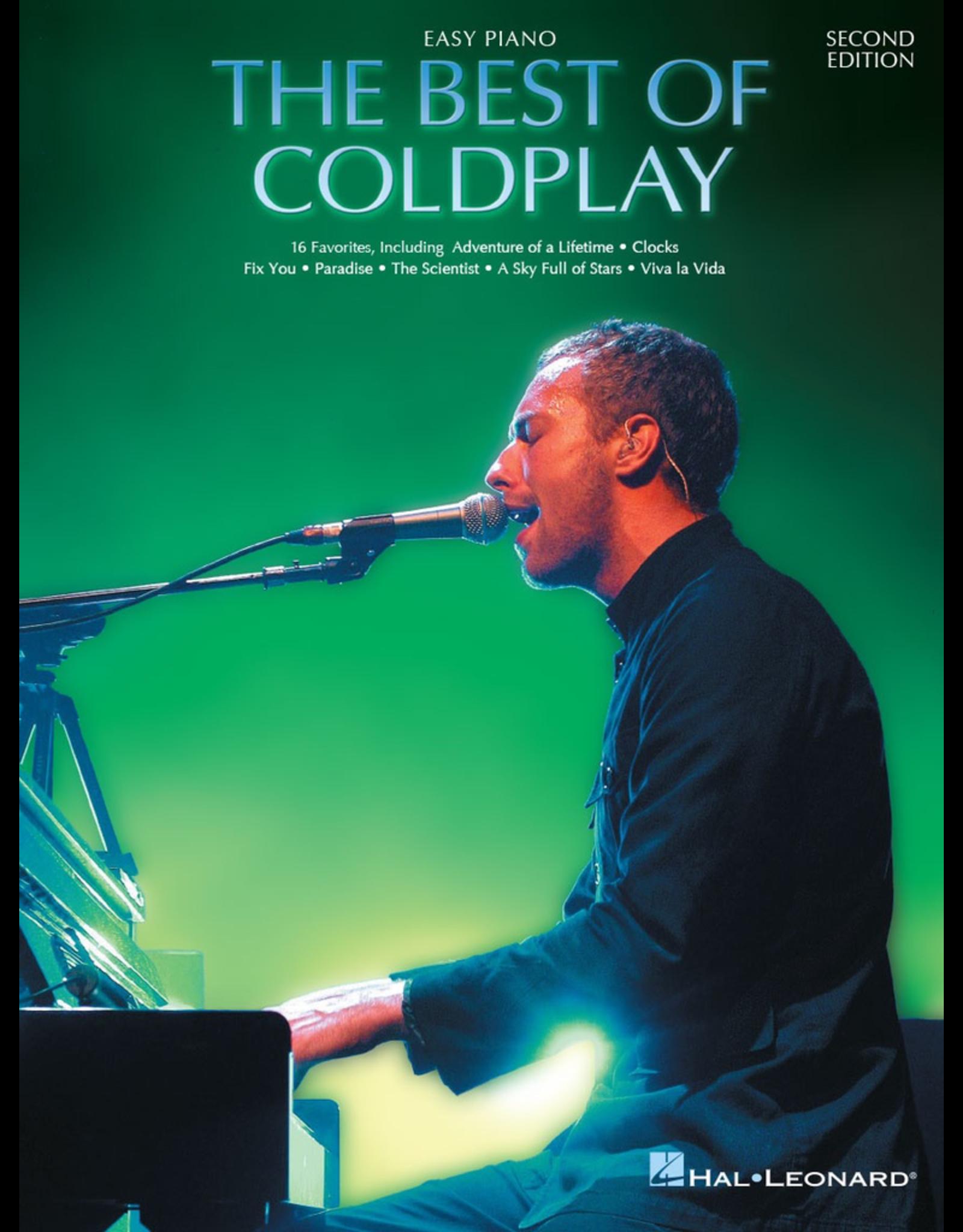Hal Leonard Best of Coldplay Easy Piano