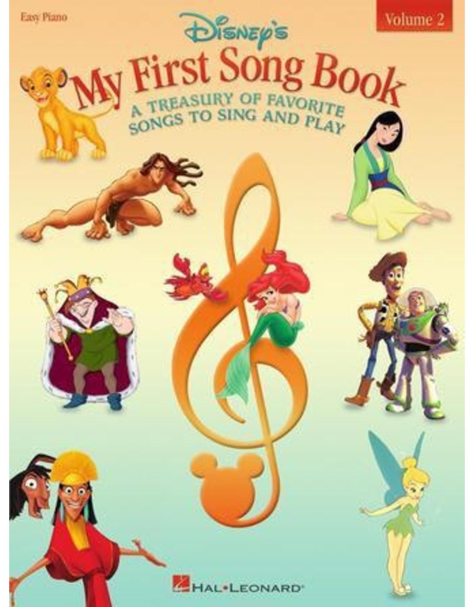 Hal Leonard Disney's My First Songbook Volume 2 Easy Piano