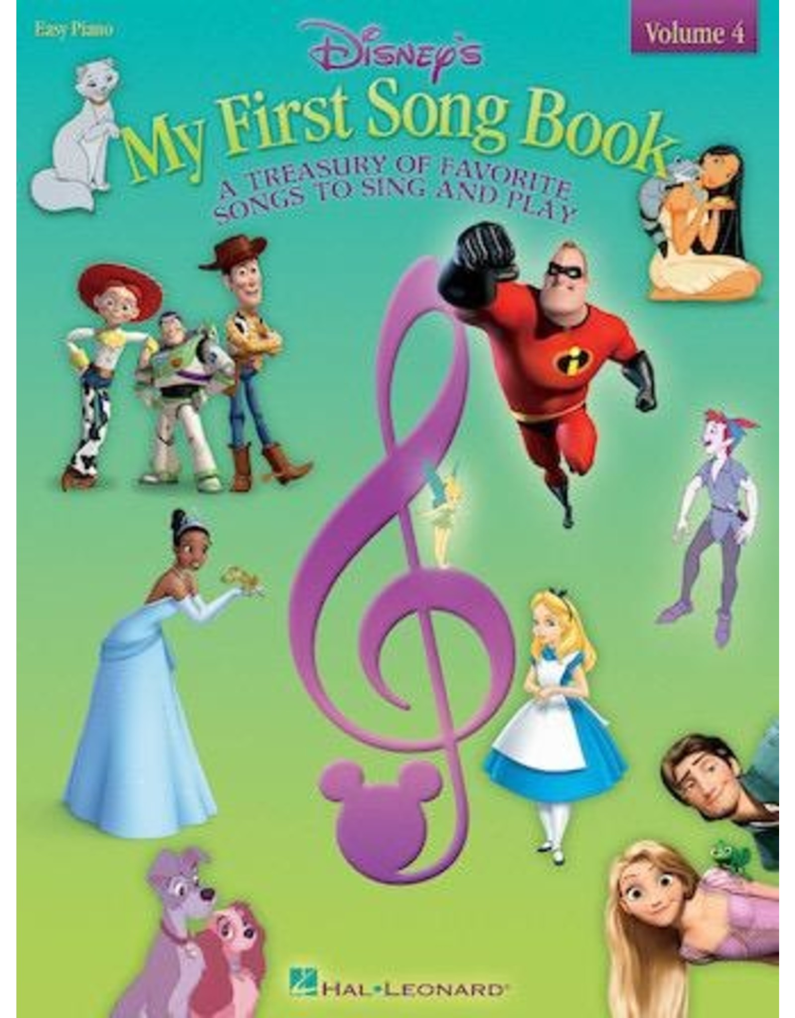 Hal Leonard Disney's My First Songbook Volume 4 Easy Piano