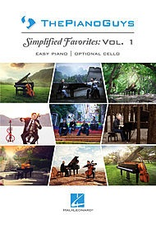 Hal Leonard Piano Guys Simplified Favorites Volume 1 Easy Piano | Cello