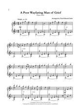Tom Clark Music Peace - 12 Piano Solos for the Intermediate Pianist by Tom Edward Clark