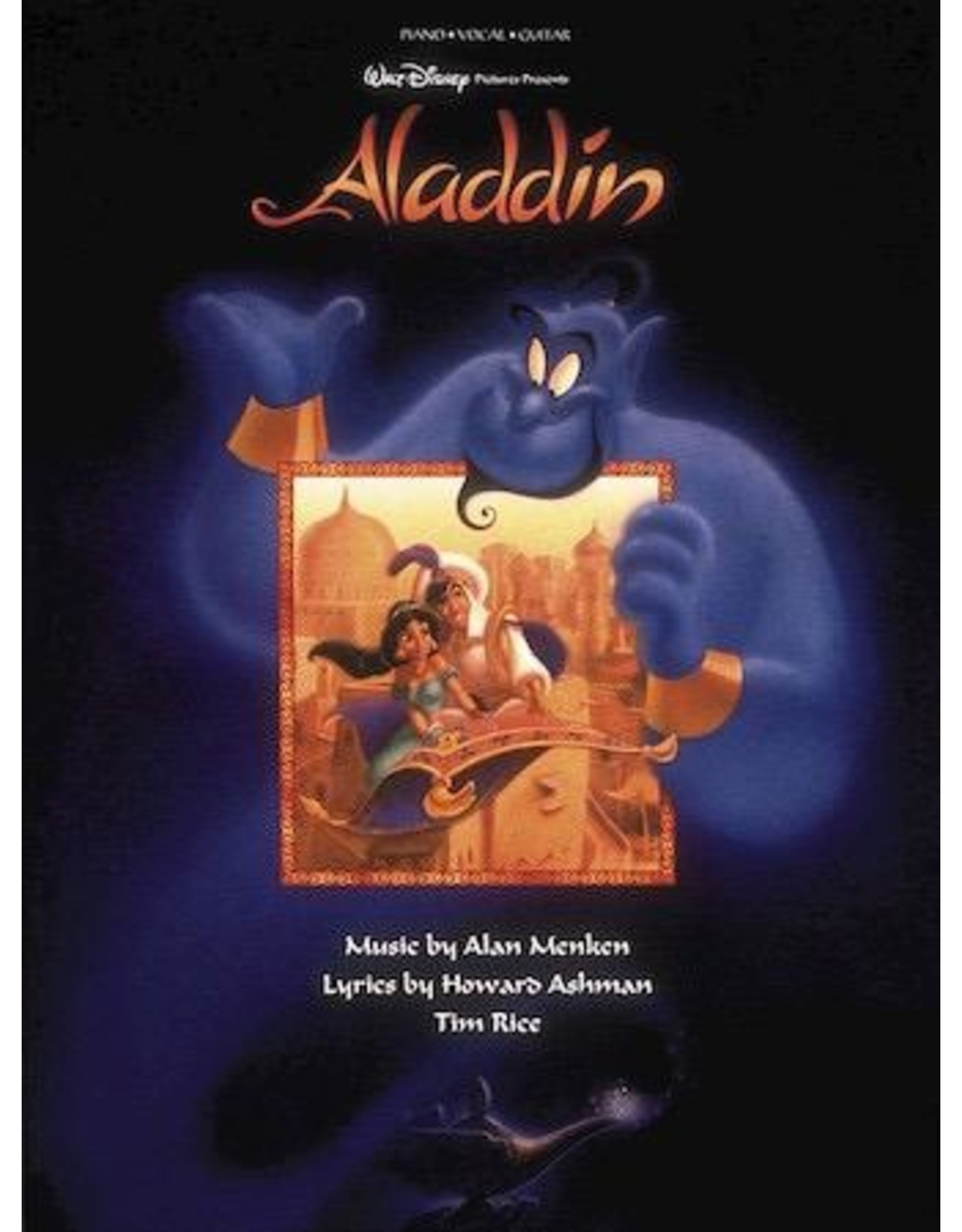 Hal Leonard Aladdin Animated Movie PVG