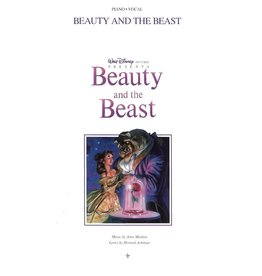 Hal Leonard Beauty and The Beast Animated Movie PVG