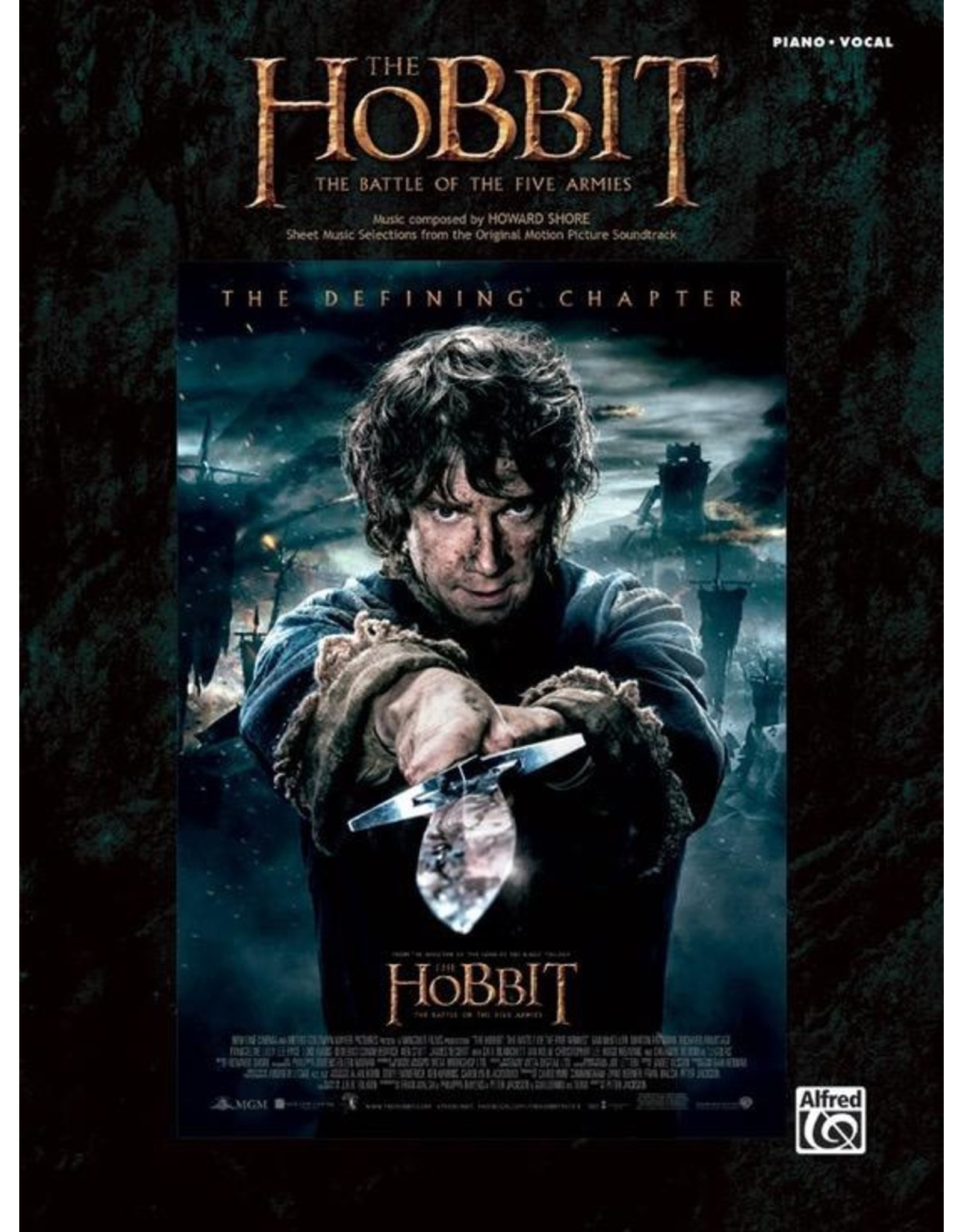 Alfred Hobbit Movie - The Battle of the Five Armies PVG