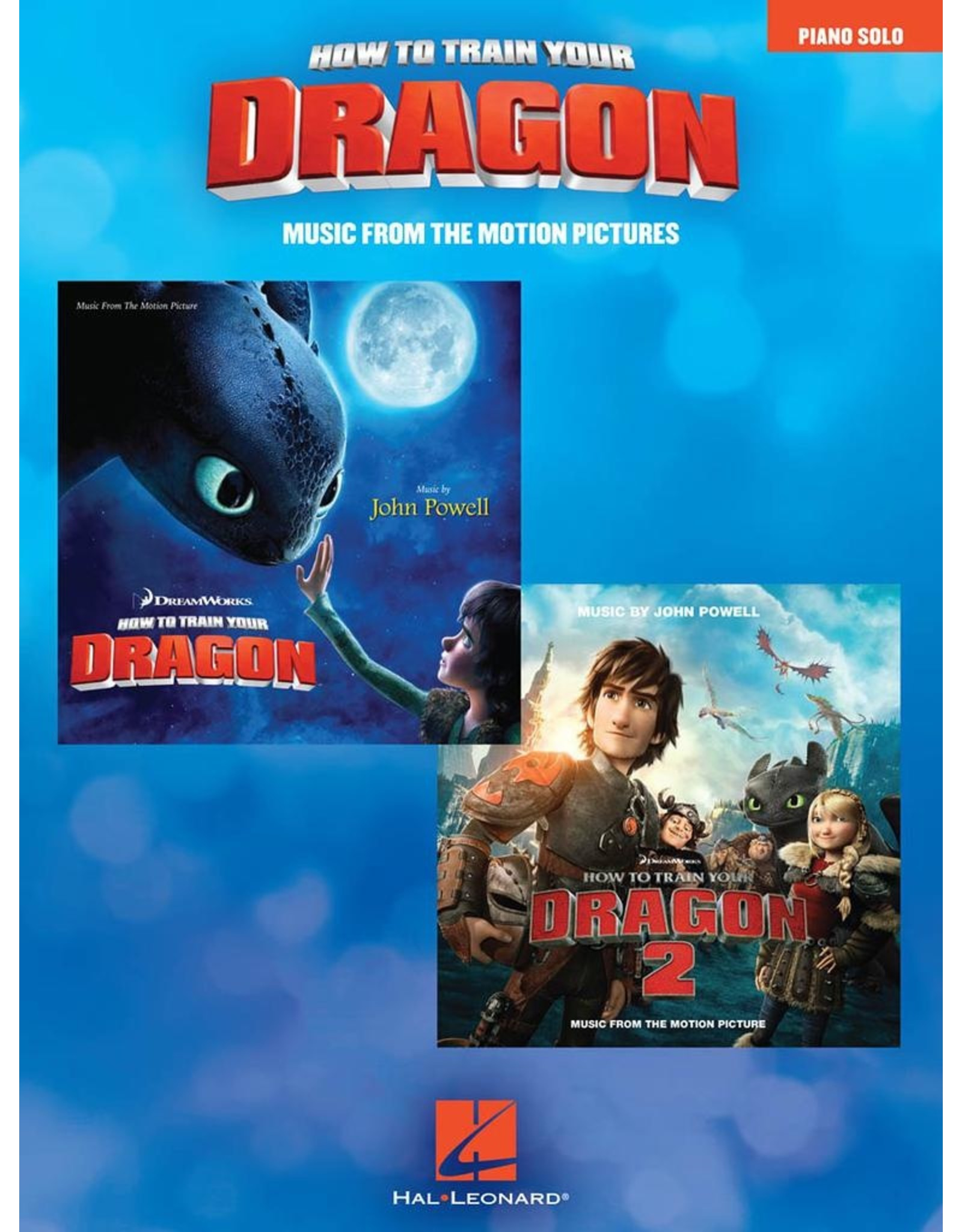 Hal Leonard How to Train Your Dragon - Music from the Motion Pictures (1&2) by John Powell