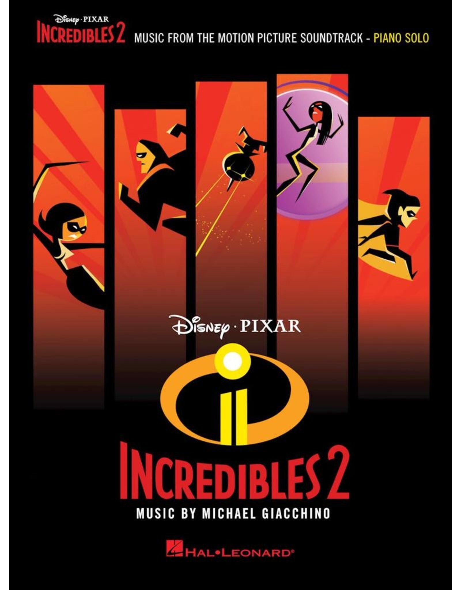 Hal Leonard Incredibles 2 by Michael Giacchino Piano Solo