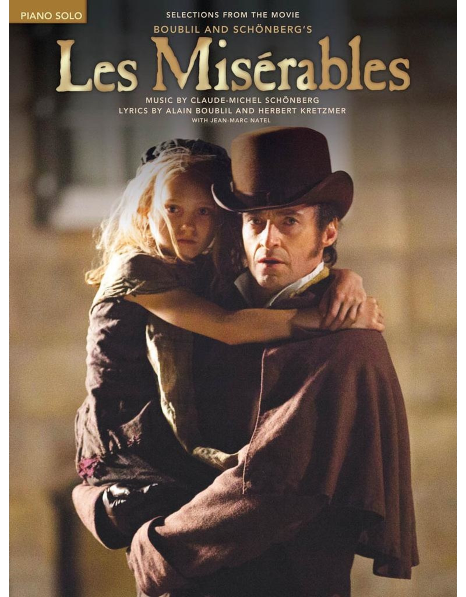 Hal Leonard Les Miserables Piano Solos from the Movie