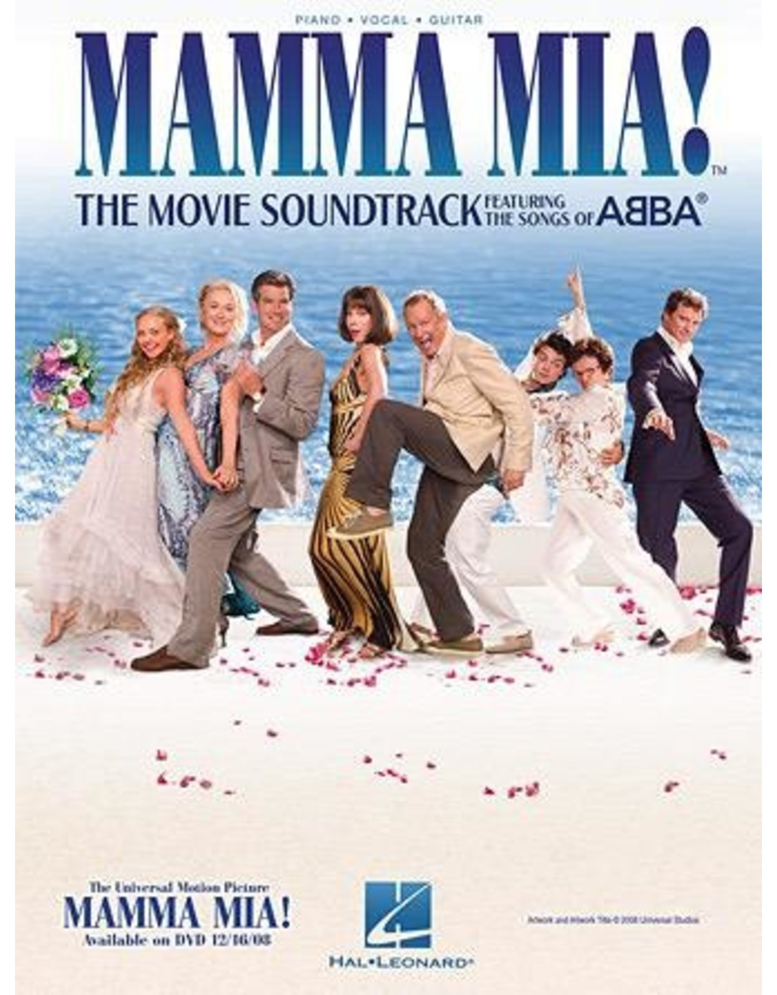 Hal Leonard Mamma Mia! by ABBA Movie Selections