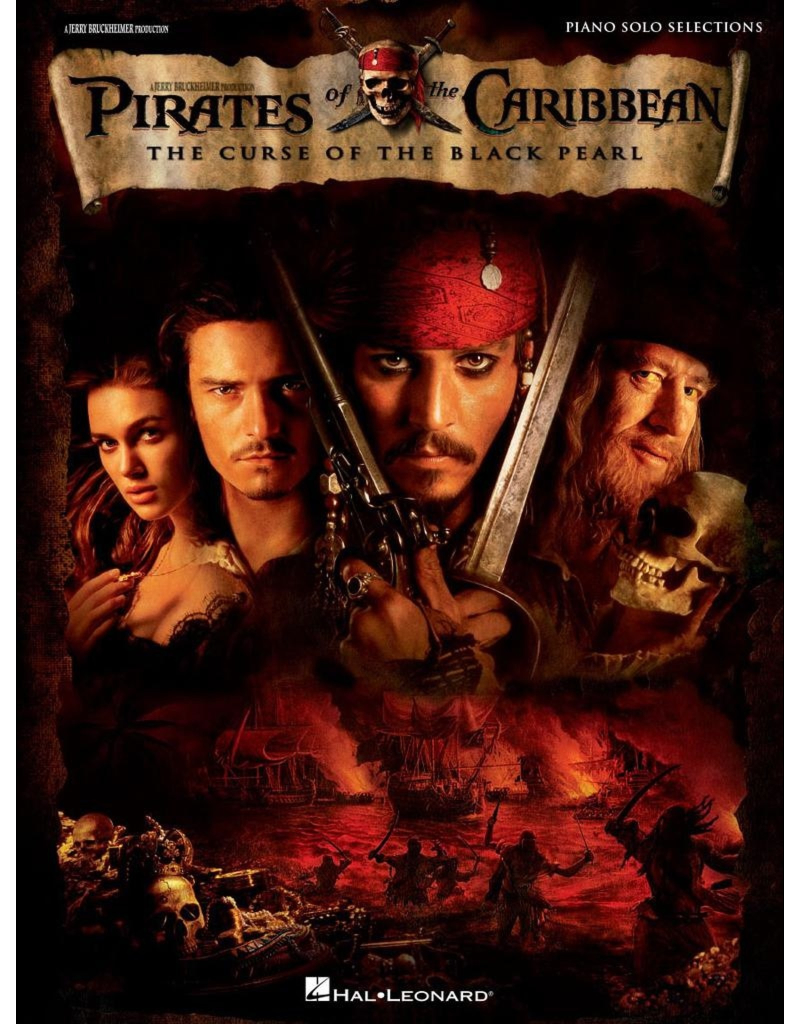Hal Leonard Pirates of the Caribbean - The Curse of the Black PearlPiano Solos