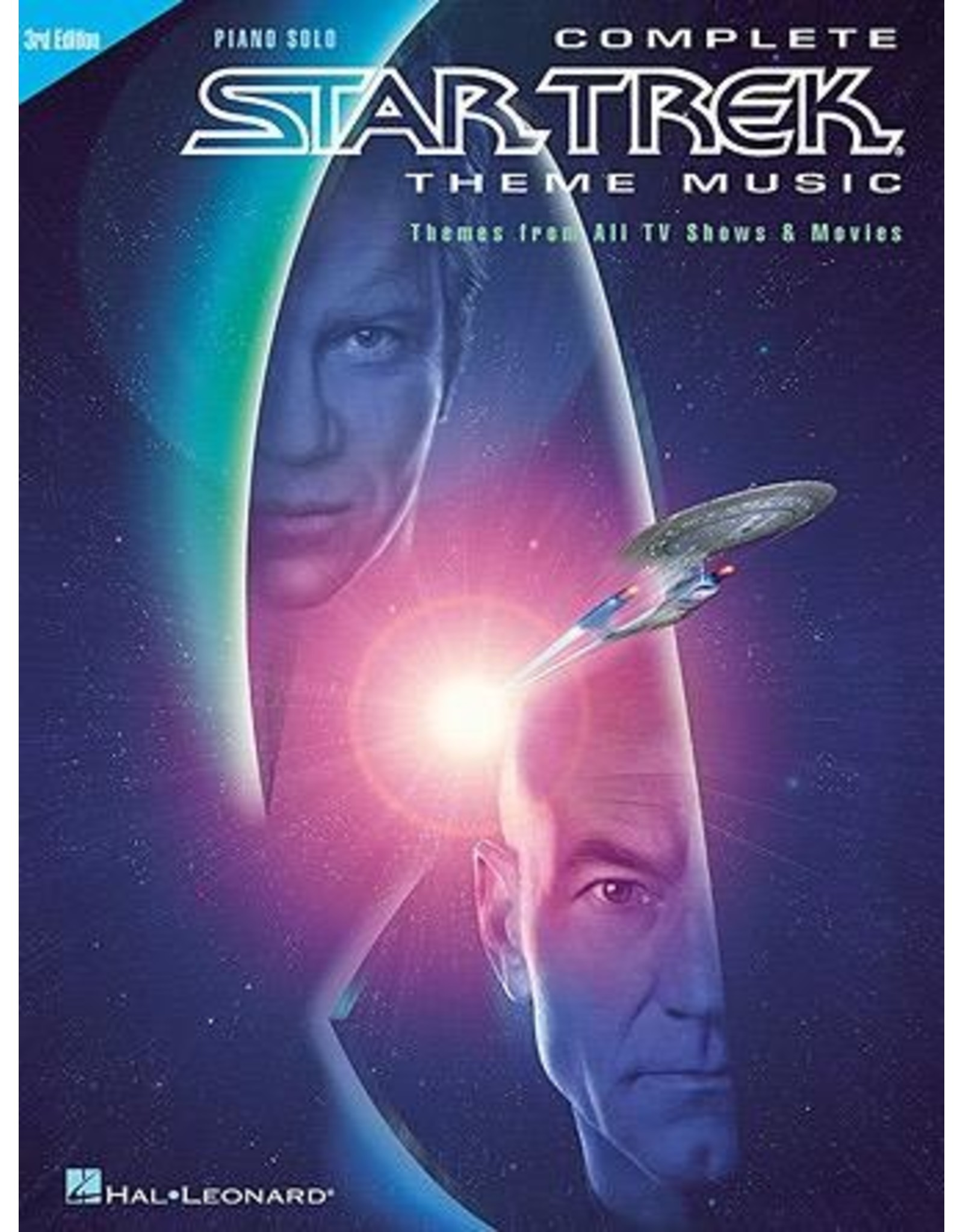 Hal Leonard Star Trek Complete Theme Music Piano Solo