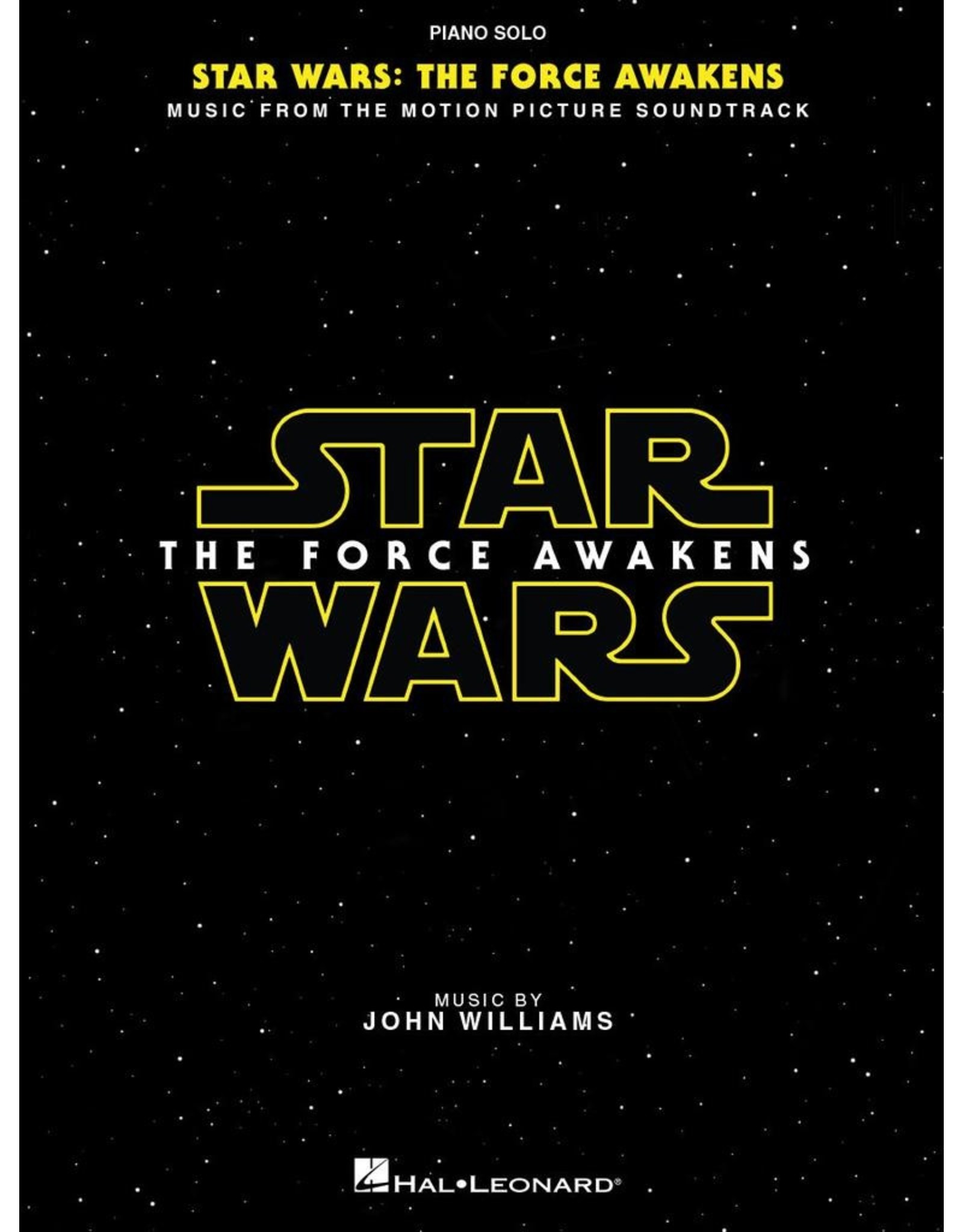 Hal Leonard Star Wars: Episode VII - The Force Awakens Piano Solo