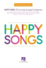 Hal Leonard Happy Songs for Beginning Piano (Big Note)