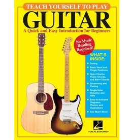 Hal Leonard Teach Yourself to Play Guitar