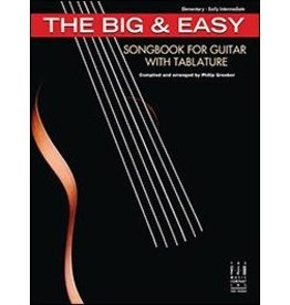FJH Music Company Big & Easy Songbook for Guitar with Tablature