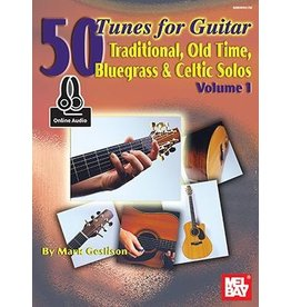 Mel Bay 50 Tunes for Guitar with Online Audio Access