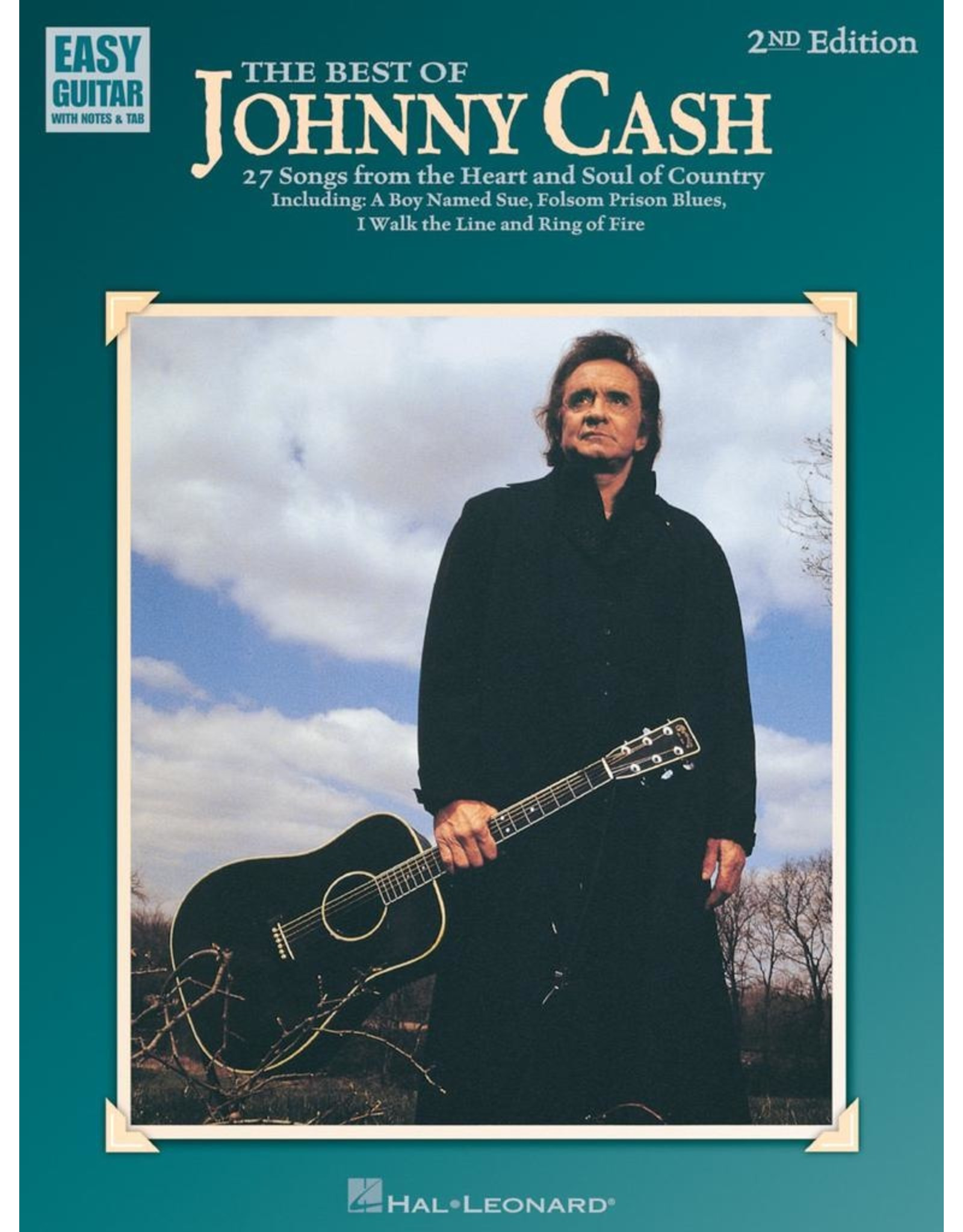 Hal Leonard Best of Johnny Cash - Easy Guitar