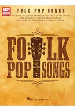 Hal Leonard Folk Pop Songs - Easy Guitar with Notes and Tablature