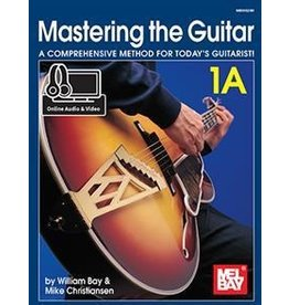 Mel Bay Mastering the Guitar 1A - Spiral Book + Online Audio