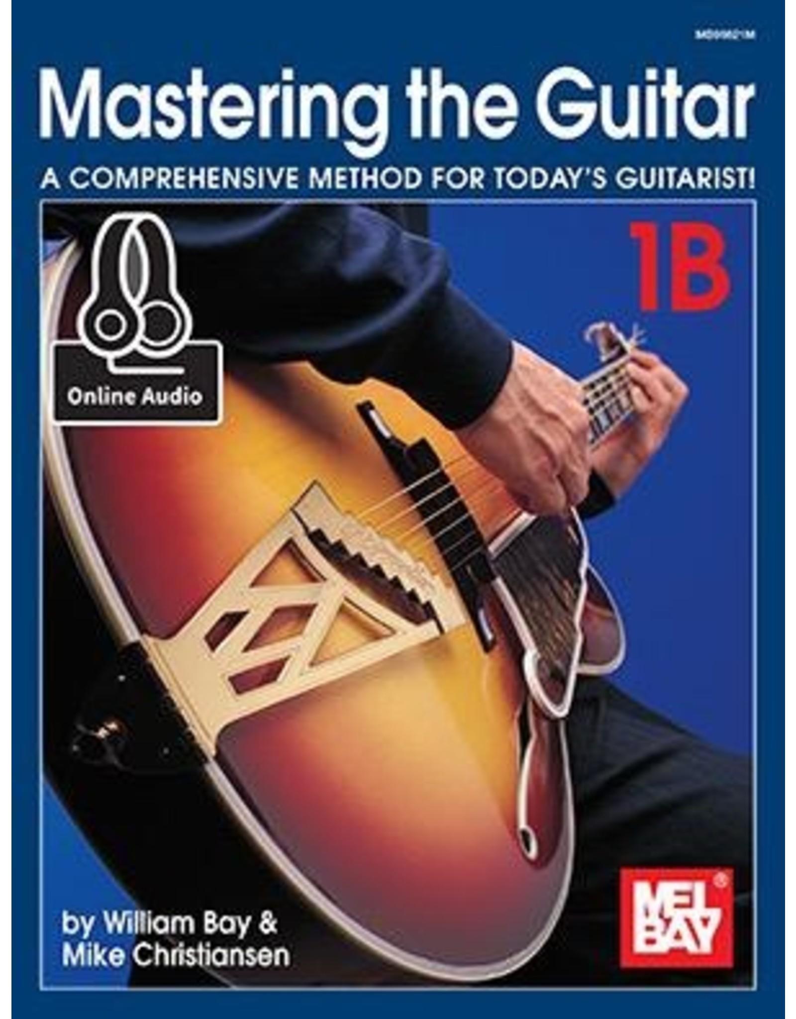 Mel Bay Mastering the Guitar 1B - Spiral Book + Online Audio