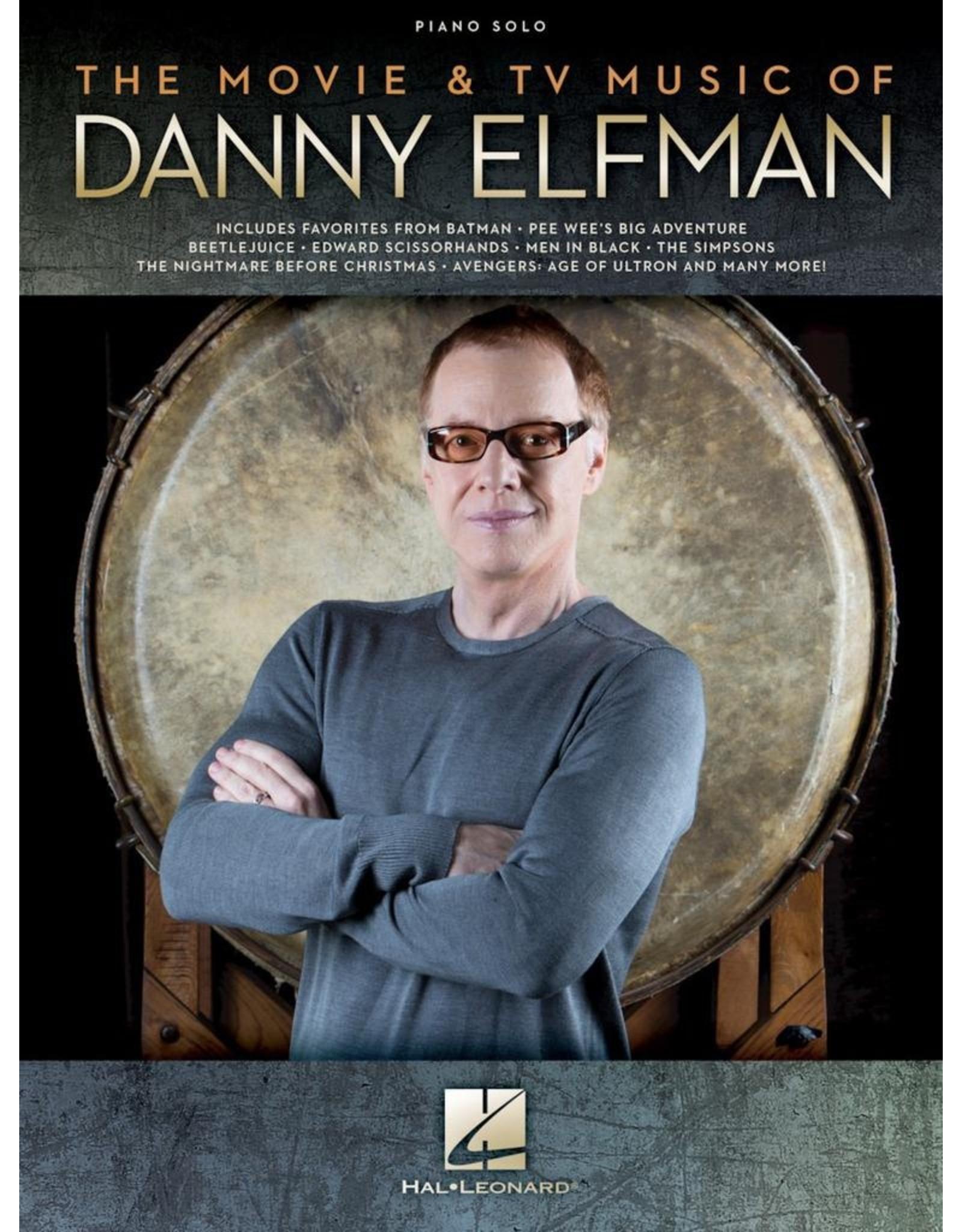Hal Leonard Movie and TV Music of Danny Elfman Piano Solo