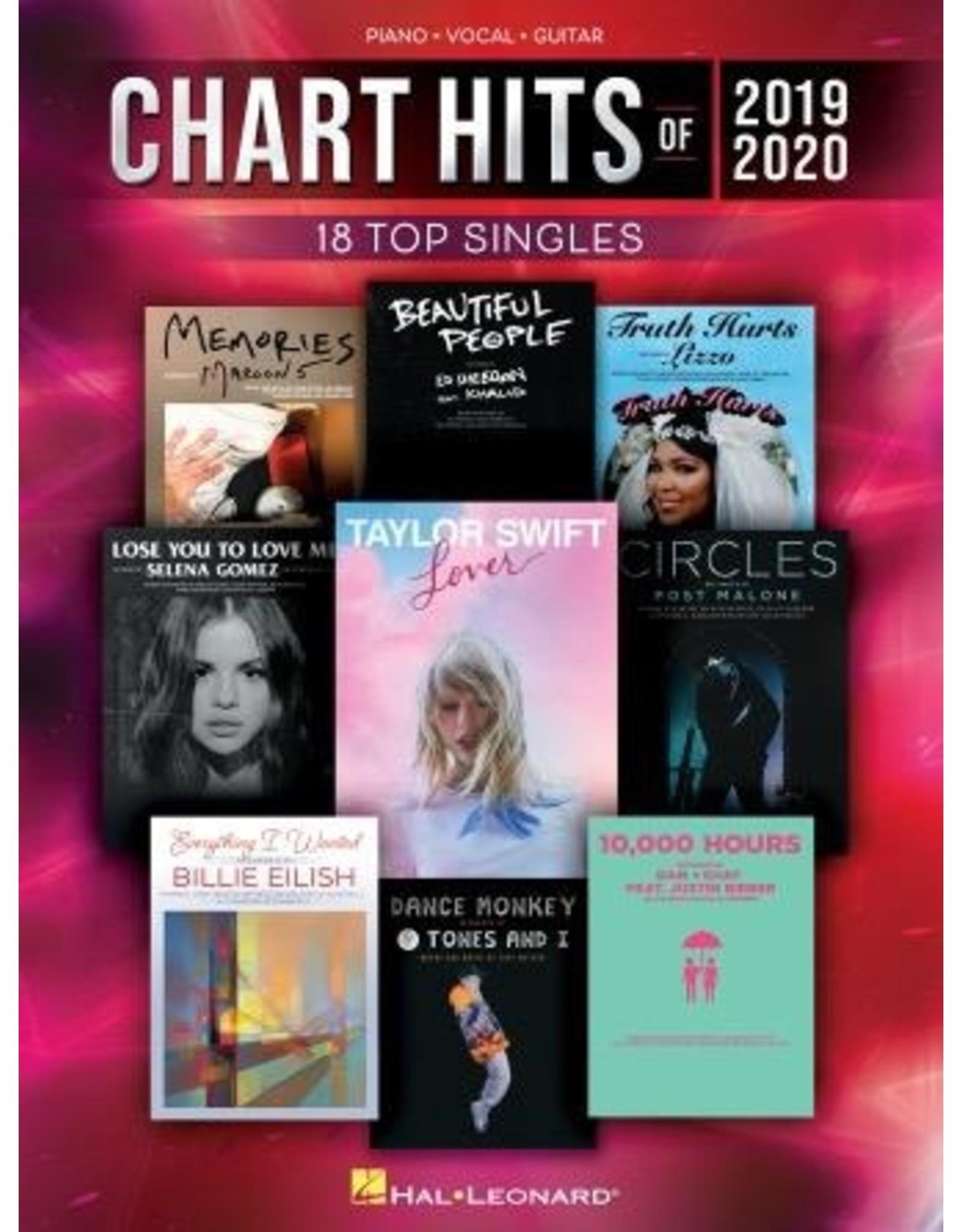 Hal Leonard Chart Hits of 2019-2020 PVG