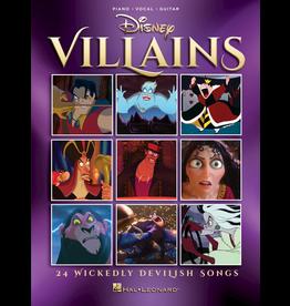 Hal Leonard Disney Villians 24 Wickedly Devilish Songs