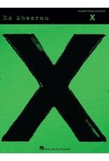 Hal Leonard Ed Sheeran - X PVG