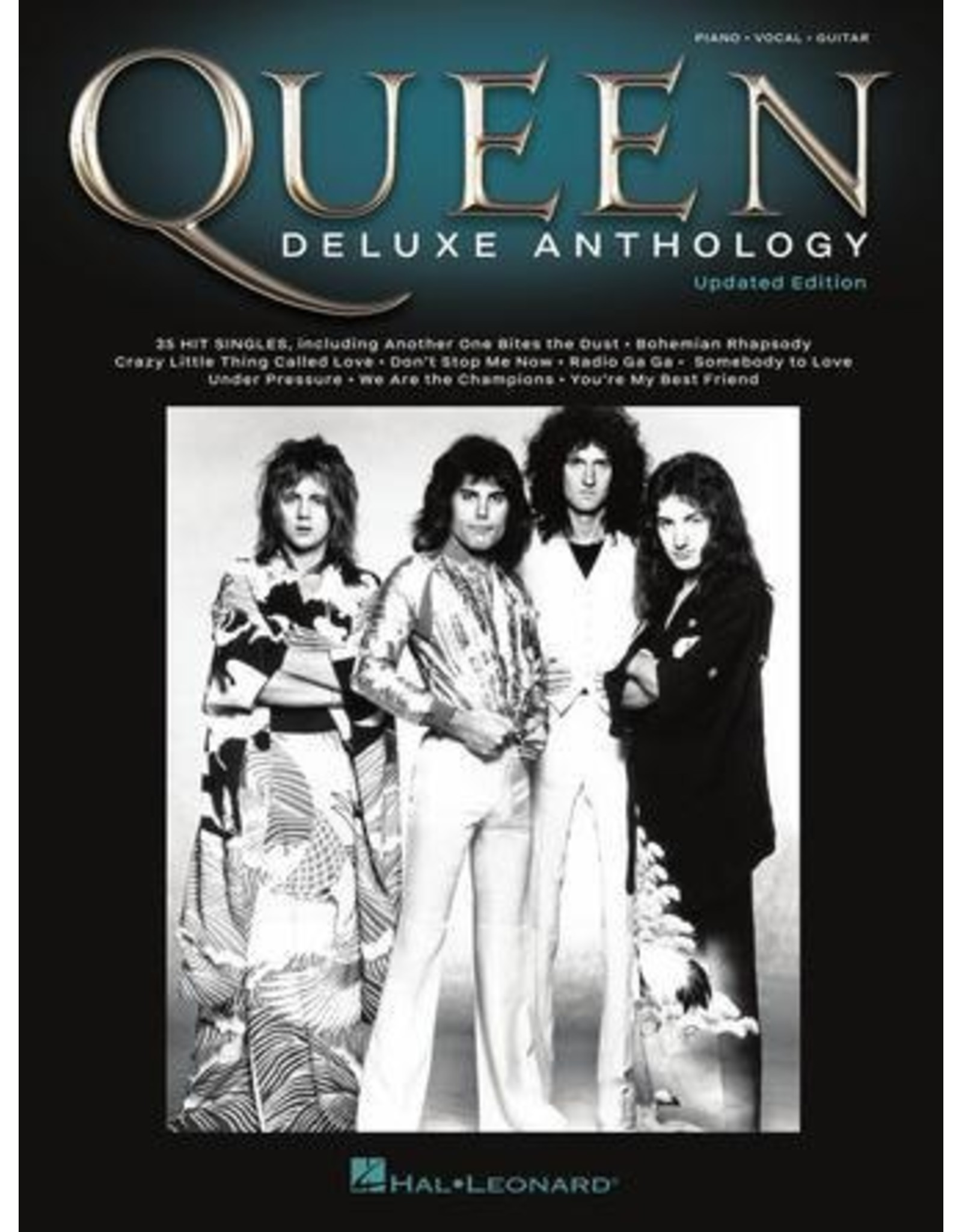 Hal Leonard Queen Deluxe Anthology PVG