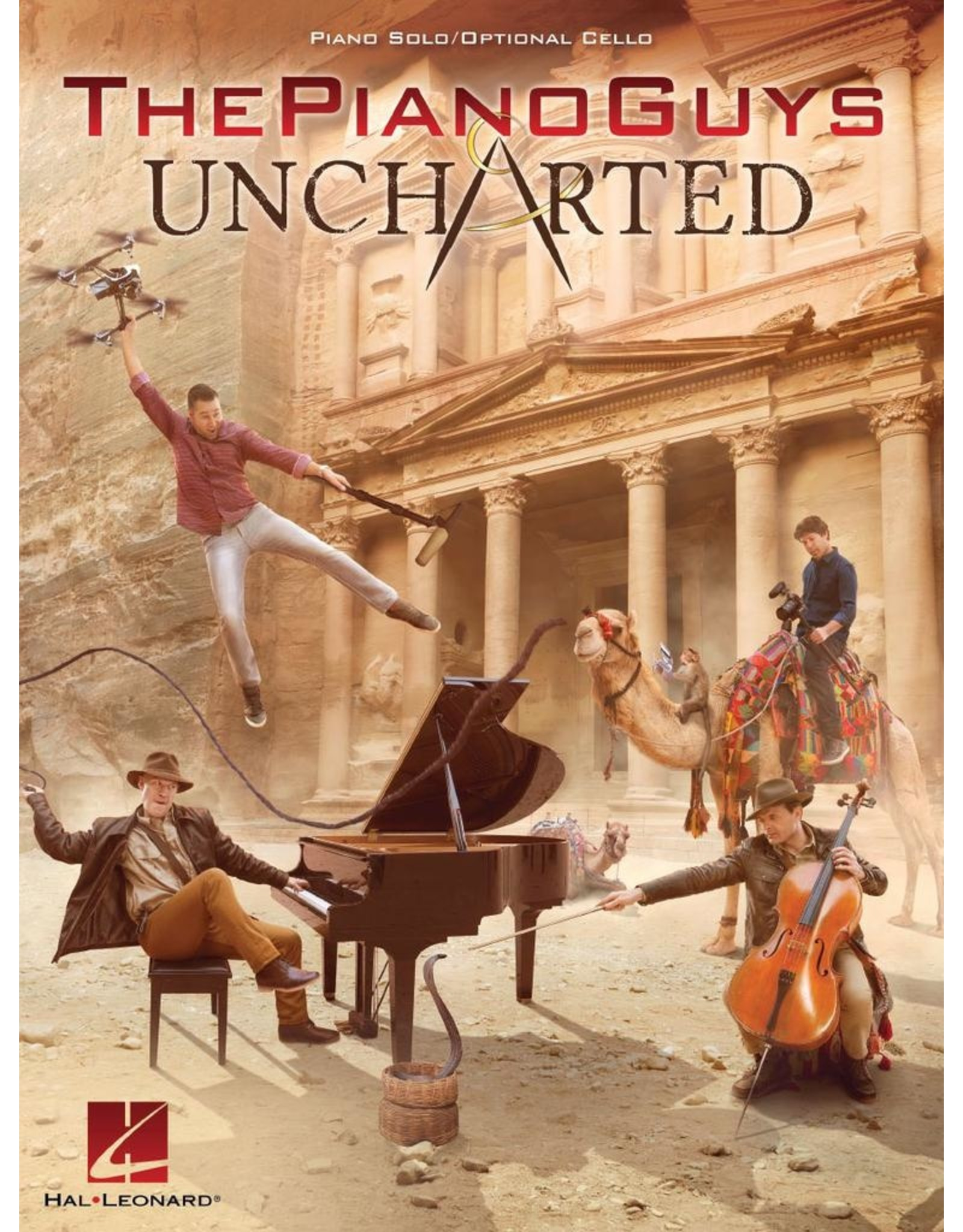 Hal Leonard PIano Guys - Uncharted Piano Solo with Optional Cello