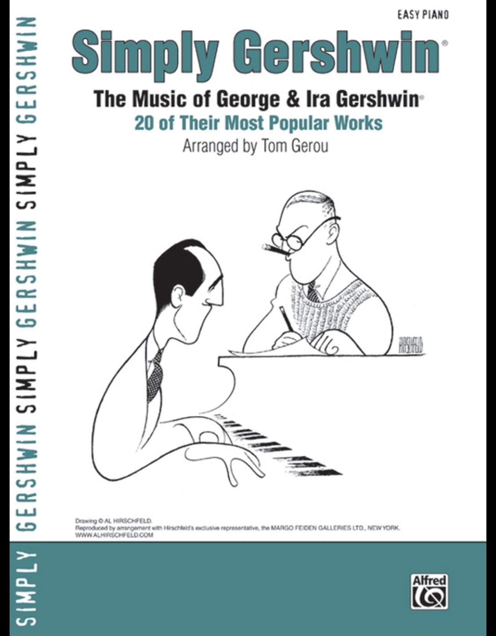 Alfred Simply Gershwin - By George Gershwin / arr. Tom Gerou