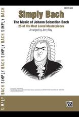 Alfred Simply Bach - By Johann Sebastian Bach / arr. Jerry Ray
