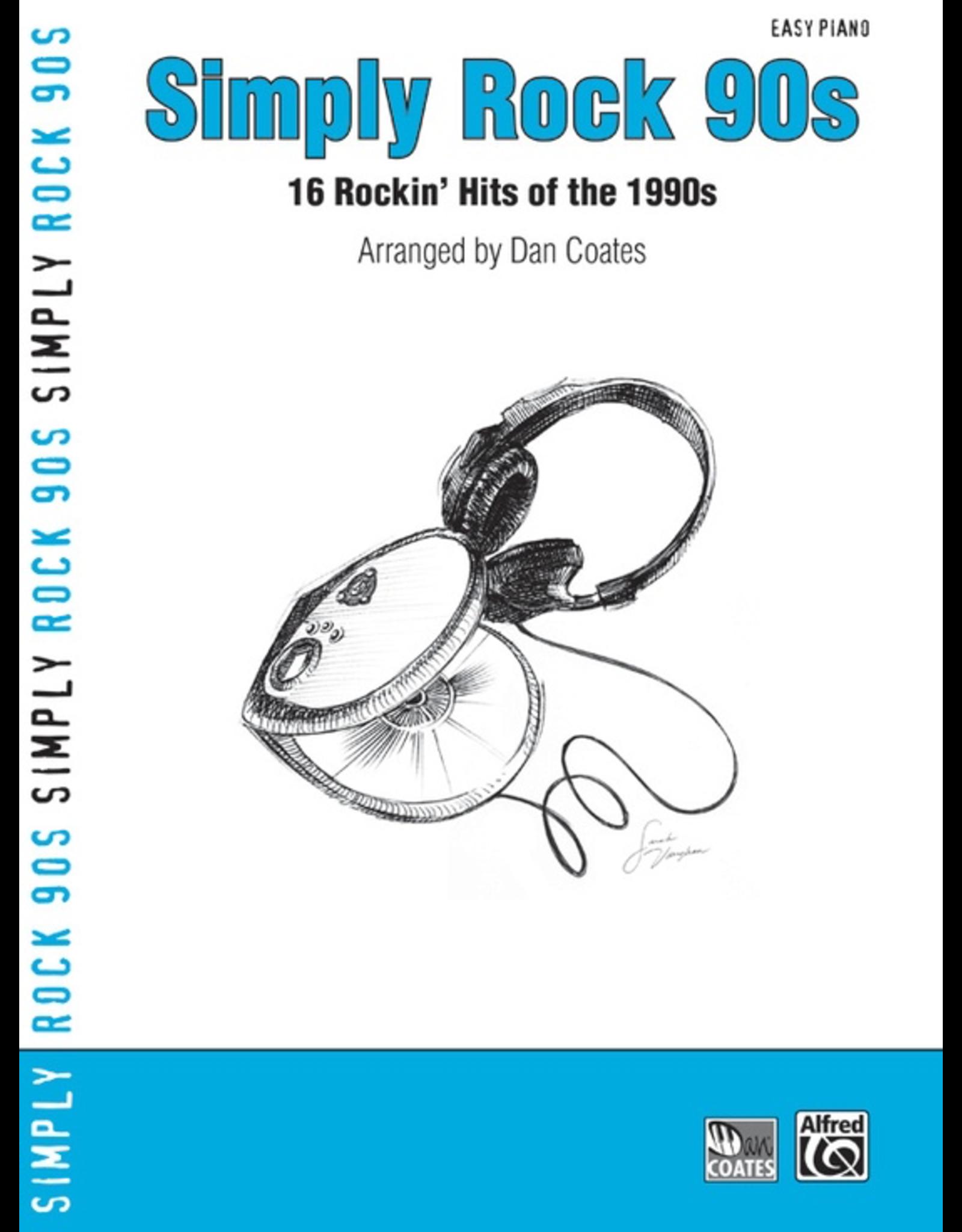 Alfred Simply Rock 90s - Arr. Dan Coates