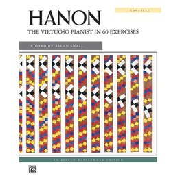 Alfred Hanon - The Virtuoso Pianist in 60 Excercises Complete - Spiral Bound
