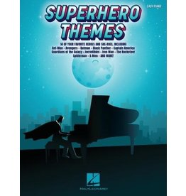 Hal Leonard Superhero Themes - 14 of Your Favorite Heroes and She-Roes (Easy Piano)