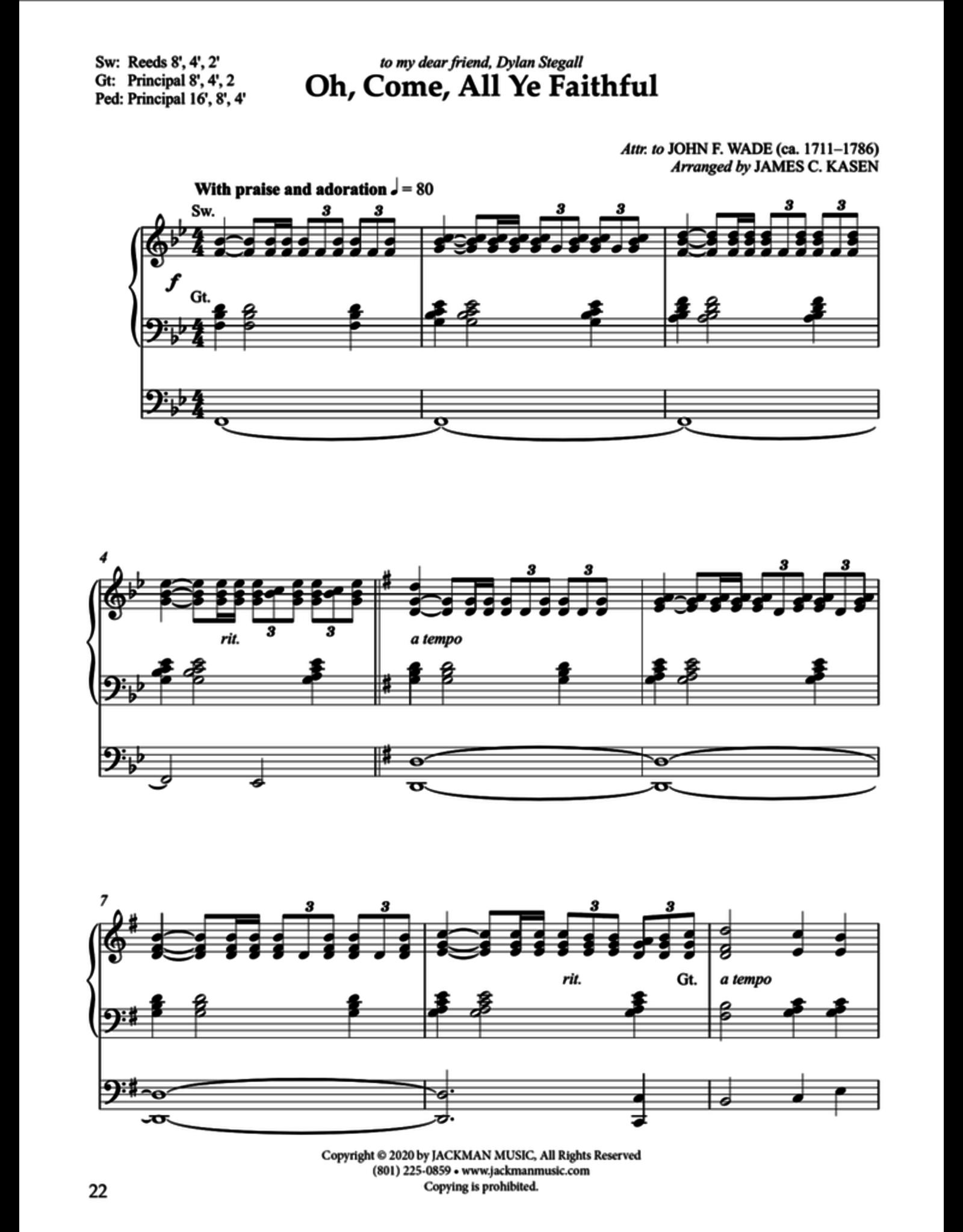 Jackman Music Christmas Postludes for Organ Vol. 2 arr. James Kasen