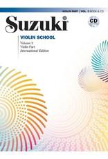 Alfred Suzuki Violin School, Volume 3 International Edition with CD