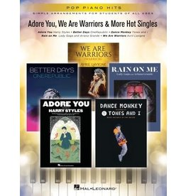 Hal Leonard Adore You, We Are Warriors & More Hot Singles - Easy Piano