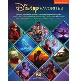 Hal Leonard Disney Favorites Beginning Piano Solo (Big Note)