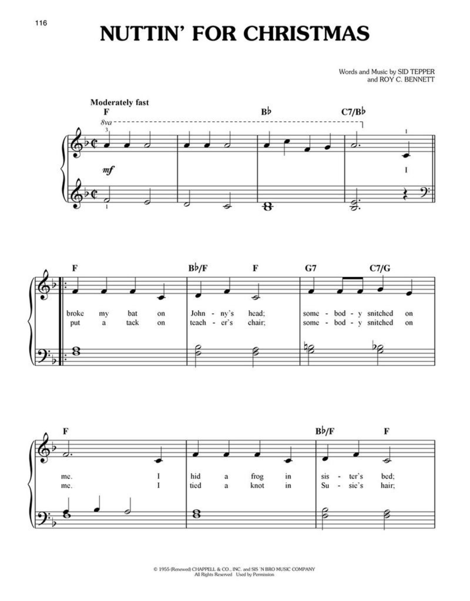 Hal Leonard First 50 Christmas Songs You Should Play on the Piano - Easy Piano