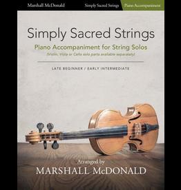 Marshall McDonald Music Simply Sacred Strings by Marshall McDonald - Piano Accompaniment