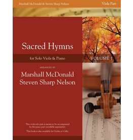 Marshall McDonald Music Sacred Hymns  for Solo Instrument and Piano Vol. 1 Viola Solo Part arr by Marshall McDonald