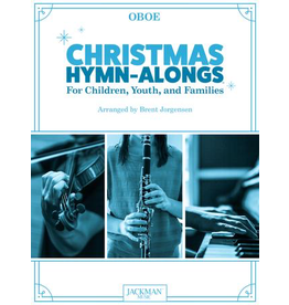 Jackman Music Christmas Hymn-Alongs Vol. 1 - arr. Brent Jorgensen - Oboe