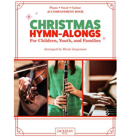 Jackman Music Christmas Hymn-Alongs Vol. 1 - arr. Brent Jorgensen - Piano Accompaniment Book