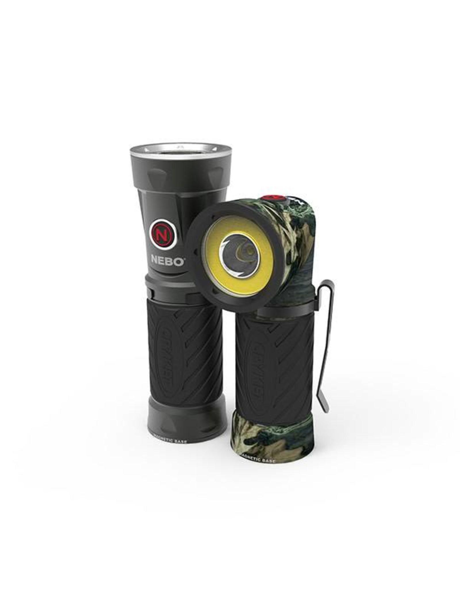 Nebo Cryket Cob Work & Spot Flashlight