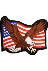 Patch - Flag USA Eagle