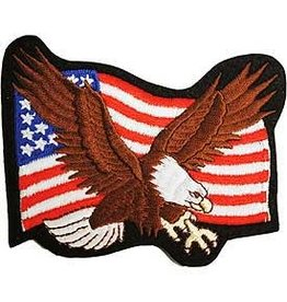 Patch - Flag USA Eagle