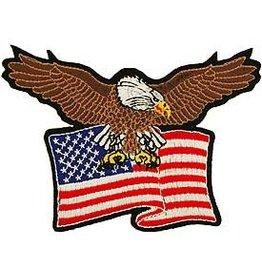 Patch - USA Eagle Flag